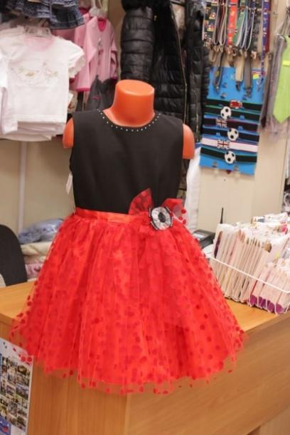 Нарядное платье для девочки«Кармен»