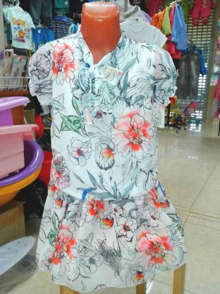 Платье нарядное для девочки «Цветочки»