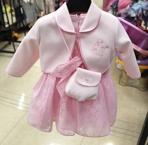 Детское нарядное платье «Хризантема»