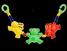 Игрушка наколяску «Мишка изайчики»