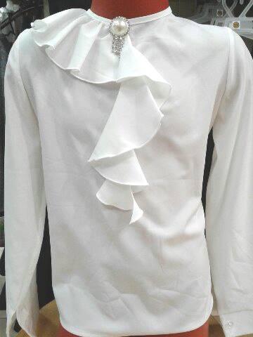 Блузка детская для девочки «Волна»