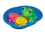 """Набор резиновых игрушек в ванную """"Лягушки"""""""