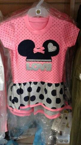 Платье для девочки, летнее