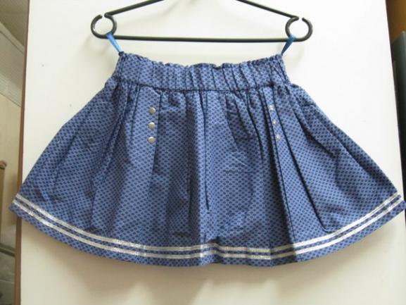 Детская юбка «Лето вПариже»