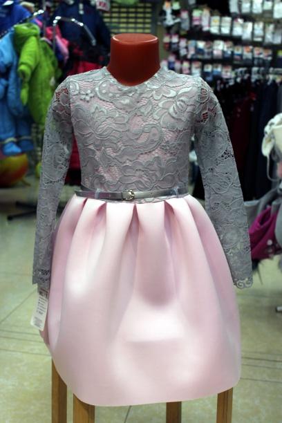 Нарядное платья для девочки «Нежные кружева»