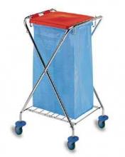 Уборочная тележка для мусора х-образная 6030002