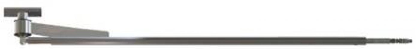 Поворотная консоль (балка), 1,75m, 250bar. (нержавейка)