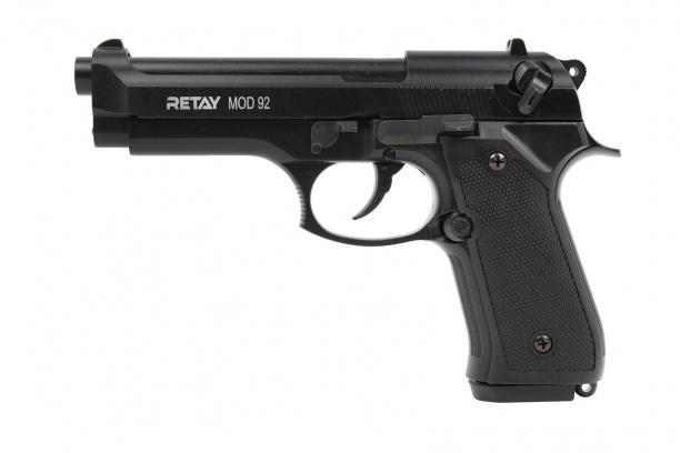 Пистолет охолощ. MOD 92 (Beretta 92) кал. 9мм Р.А.К.