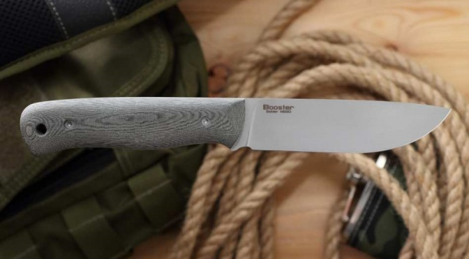 Нож ''Booster'' микарта