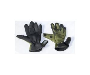 Перчатки 0042 неопрен, 5 пальцев черные