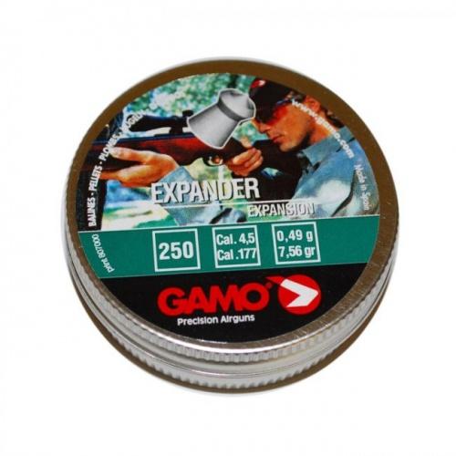 Пули для пневматики GAMO Expander 4,5 мм0,49 грамма (250 шт.)