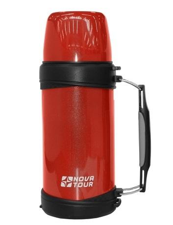 Термос для напитков изнерж. сталистали ''Ред 1000'' 1 литр