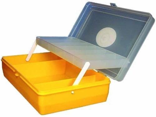Коробка для снастей ''Тривол'' бол. с микролифтом
