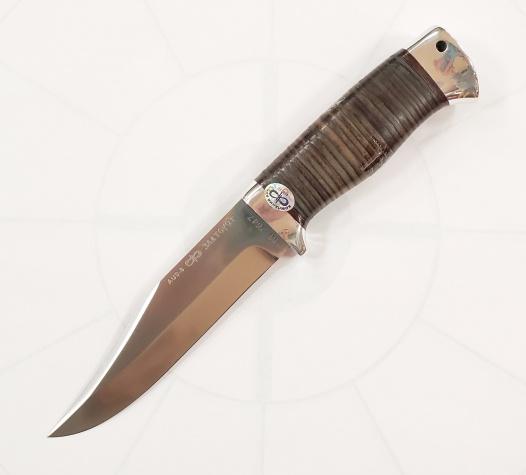 Нож охотничий (Златоуст М) кожа AUS-8