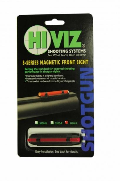 HiViz мушка S400-R красная широкая 8,2-11,3мм.
