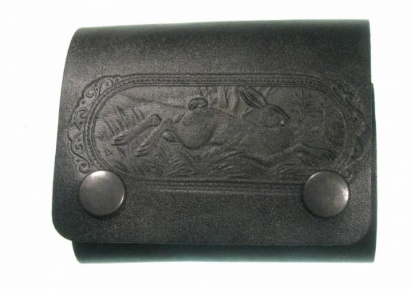 Подсумок кожаный на5 патронов 7,62калибра 190390033