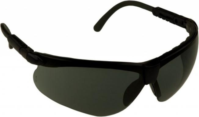 Очки стрелковые Puma дымчатые (УФ-защита, класс оптики 1, смен. линзы.)