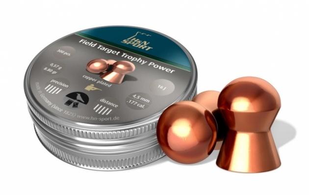 Пули пневматические H&N Field Target Trophy Power 4.5 мм 0,57 грамма (200 шт.)