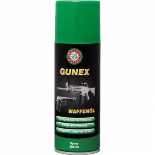 Оружейное масло Gunex 2000 spray 200 ml.