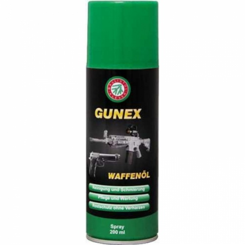 Оруж. масло Gunex 2000 spray 200 ml.