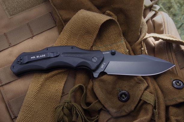 Нож Mr. Blade ''HT-1'' black