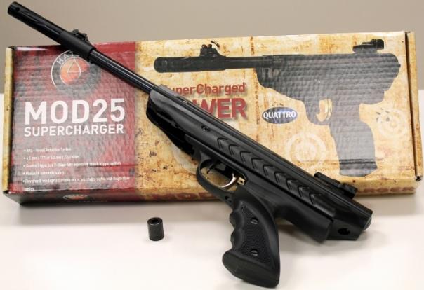 Пневматический пистолет Hatsan MOD 25 Supercharger