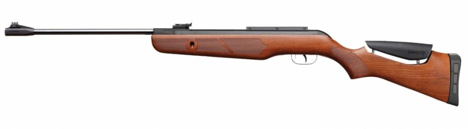 Пневматическая винтовка GAMO Hunter DX(переломка. дерево) к.4,5мм.
