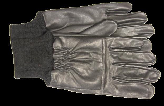 Перчатки стрелковые кожаные