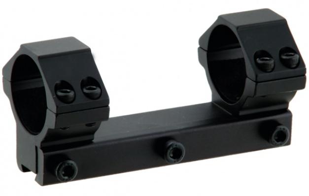 Кронштейн LEAPERS AccuShot с кольцами 25.4 мм. (средний) для уст. на призму 10-12 мм