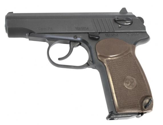 Пистолет П-М17Т 9мм Р.А.