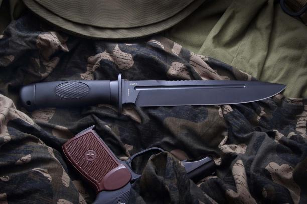 Охотничий нож ''Вежливый (Bland)'' чёрный