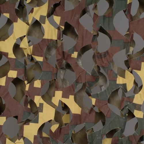 Сеть маскир. Пейзаж ''Утка 3D'' (2,4x3 м) ПУ-3