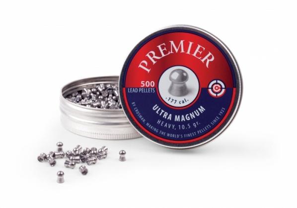 Пули для пневматики Crosman Premier Domed 10,5 гран 4,5 мм(500 шт)