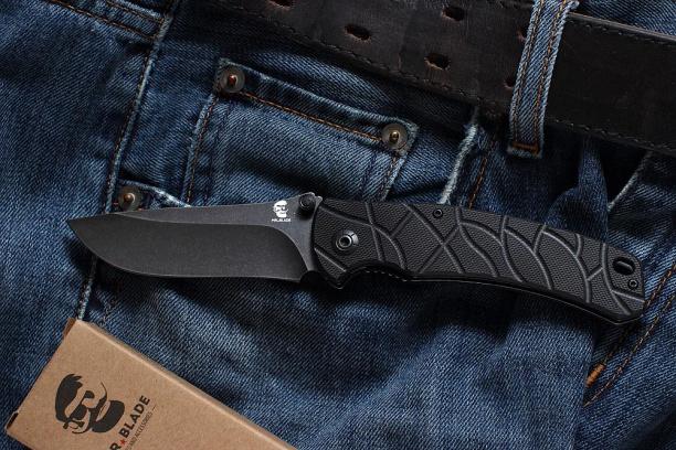 Раскладной нож Mr. Blade ''OSLAVA'' (black S.W)