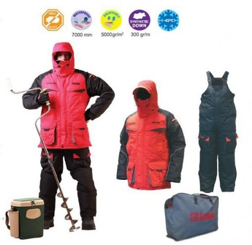 Зим. костюм Alaskan NewPolar куртка комб.