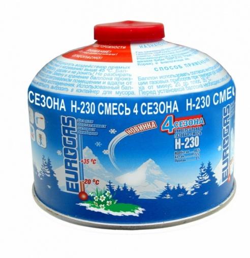 Баллон Eurogaz газовый 230 В-230