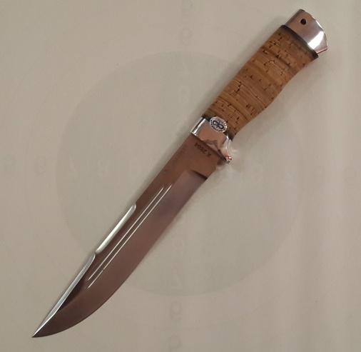 Нож охотничий ''Сохатый'' береста