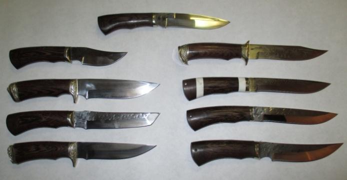 Ножи из стали 9ХС (кованые)