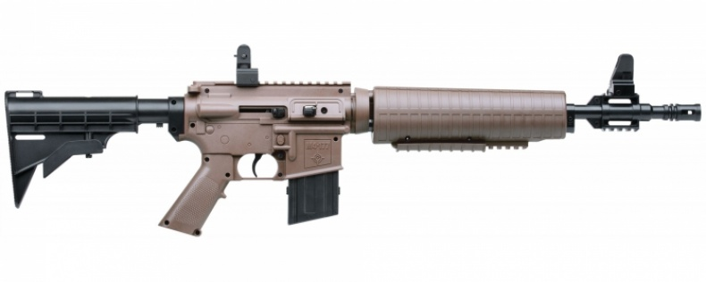 Пневматическая винтовка Кросман M4–177T(бежевая) к.4,5мм.