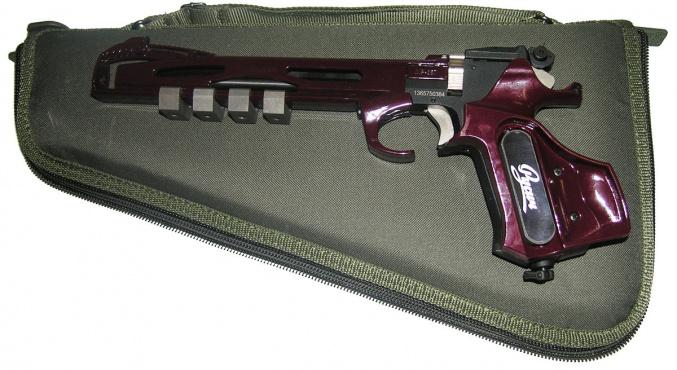 Пистолет пневм. МР-657 вкейсе