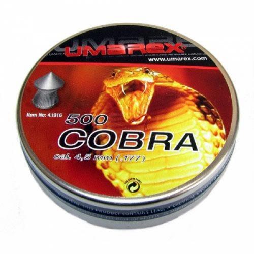 Пули для пневматики Umarex Cobra (500 шт)
