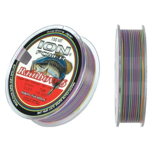 Леска Rainbow 6 Spin Multicolor
