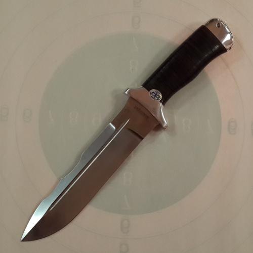 Нож охотничий ''Шерхан'' кожа