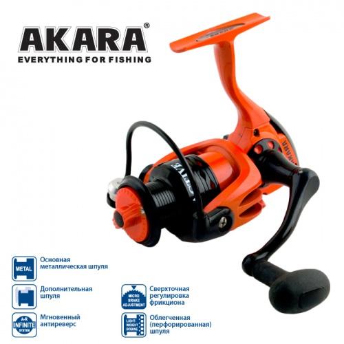 Катушка Akara Active AF2000 4+1bb з.ш