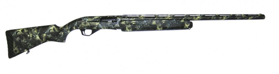 Ружье МР-155 12/76 плс. ,жёл-синий Русич L750 чёрн. хром
