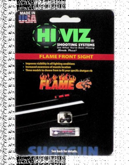 HiViz мушка Flame Sight красная FL2005-R