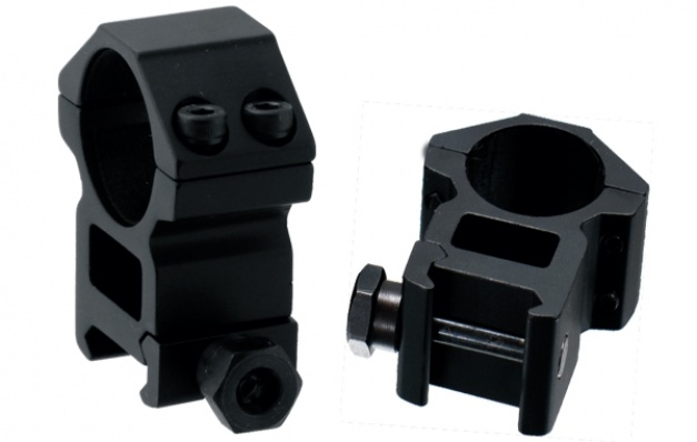 Кольца Leapers AccuShot 25.4 мм на Weaver высокие