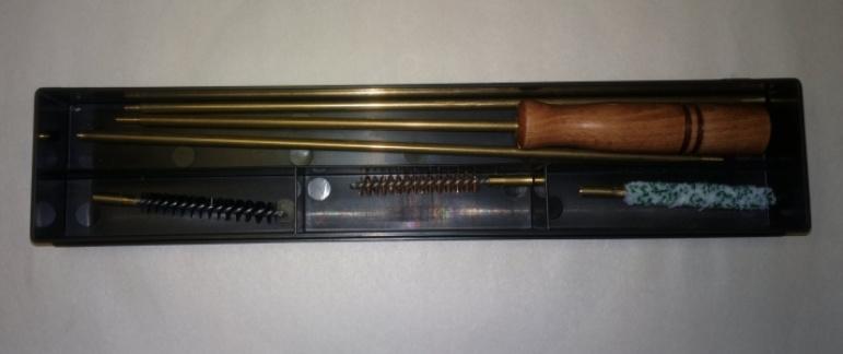 Набор для чистки коробка, калибр 7 мм шомпол-металл