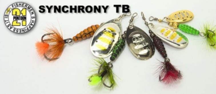 Блесна Synchrony TB № 0, 1