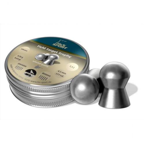 Пули пневматические H&N Field Target Trophy 4,5 мм 0,56 гр (500 шт)